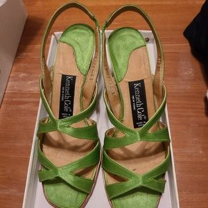 Kenneth Cole Womens Strappy Shoes Sz7